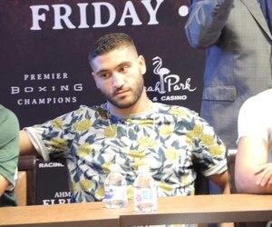 Ahmed Elbiali est honoré d'avoir l'occasion de se mesurer à Jean Pascal.