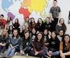 À l'école secondaire de Neufchâtel, à Québec, le programme d'éducation internationale est si populaire que trois nouvelles classes y seront ouvertes l'an prochain, pour un total de 18 groupes.