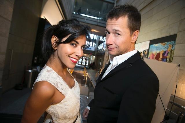 Reem Kherici et Stéphane Rousseau