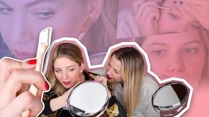 Ces 4 filles se rasent le visage pour la 1re fois