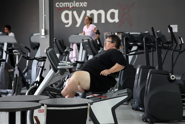 Un homme de St-Hyacinthe, Jean-Guy Roy, a réussi à perdre 277 livres. Il veut faire de la lutte à l'obésité une de ses priorités.