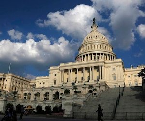 A general view of the U.S. Capitol Dome in Washington