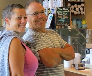 Kathleen Tourigny, 44 ans, et Guy Rouleau, 53 ans, ont trouvé l'amour… le vrai!