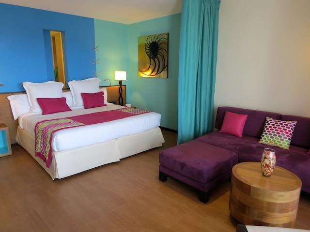 Les nouvelles chambres de la section Aguamarina ont vue sur la mer.
