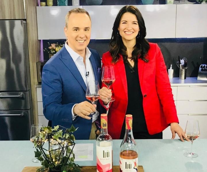 La sommelière Jessica Harnois présente deux vins rosés Bù