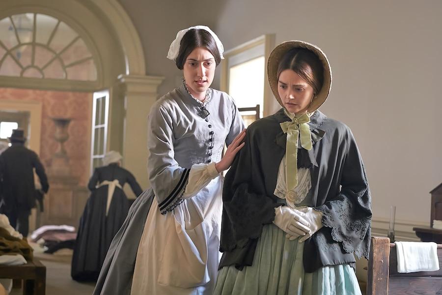 L'épidémie de choléra qui éclate a de quoi inquiéter la reine Victoria (Jenna Coleman)...
