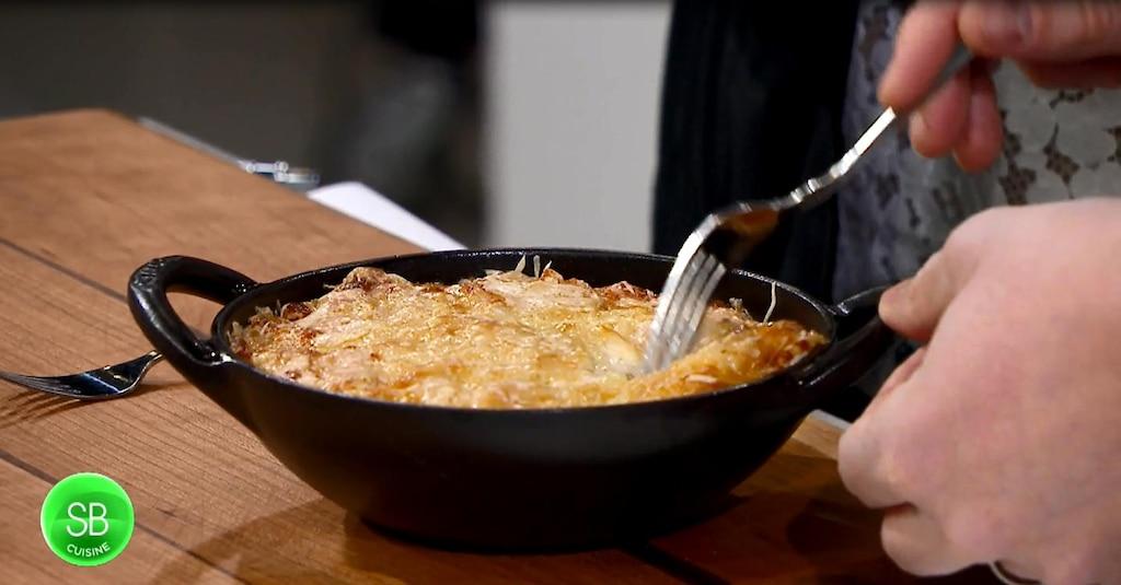 Gratin de macaroni façon Paul Bocuse
