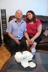 Carlos Gramajo et sa femme Mirna Maradiaga Hernandez.