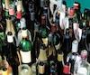 Plus d'une bouteille sur deux (60%) vendue par la SAQ aboutit actuellement dans des dépotoirs pour enfouissement.