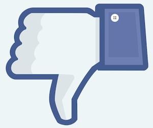 Je n'aime pas, Facebook