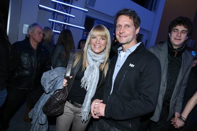 Josée Lavigueur et son conjoint Norman Klinkow à la première du nouveau spectacle de Messmer.