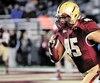 Ancien ailier défensif des Spartiates du Vieux-Montréal, Mehdi Abdesmad a connu de bons moments avec Boston College avant de se retrouver dans la NFL.