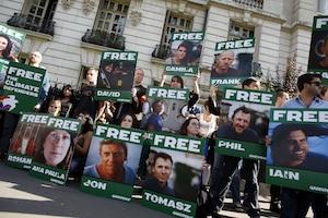 greenpeace militants
