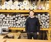François-Xavier Robert, de Quartz Co., fabricant de manteaux pour hommes et femmes à Saint-Hyacinthe.