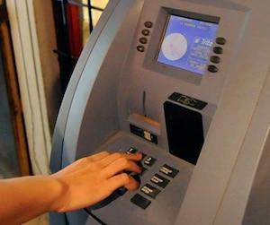 bloc situation guichet automatique argent