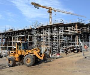 Bloc construction, chantier