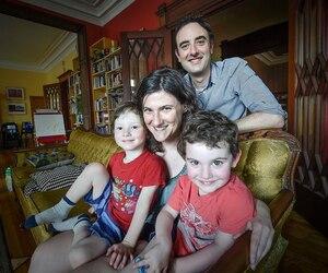 Nora Loreto et son conjoint Jesse Greener ont vécu une période d'adaptation majeure, lorsqu'ils ont quitté l'Ontario, en 2012, pour venir s'installer à Québec.