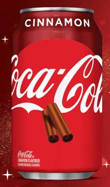 Du Coke à la cannelle et du Sprite aux canneberges