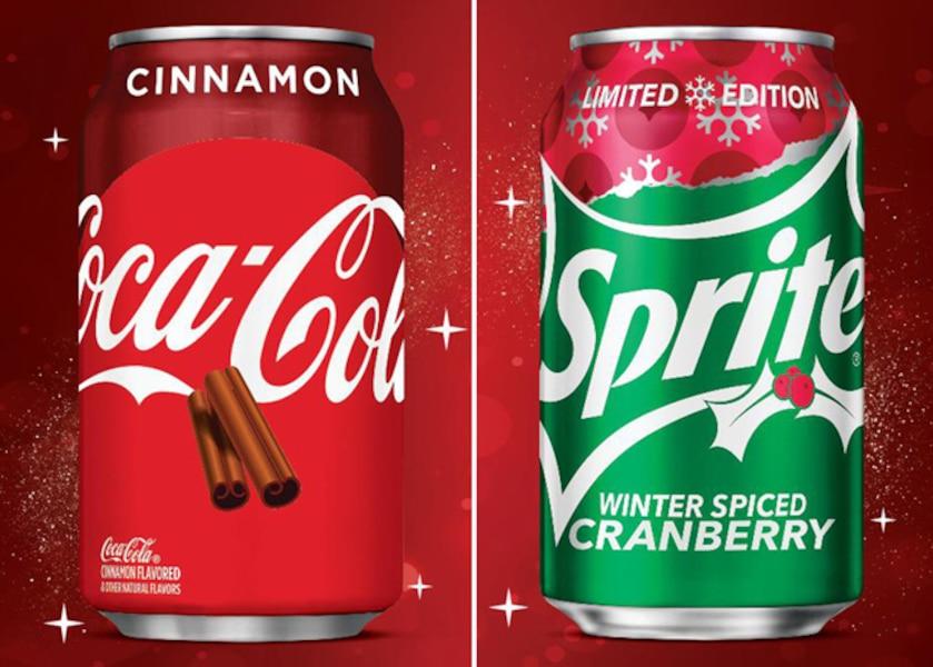 Image principale de l'article Du Coke à la cannelle et du Sprite aux canneberges