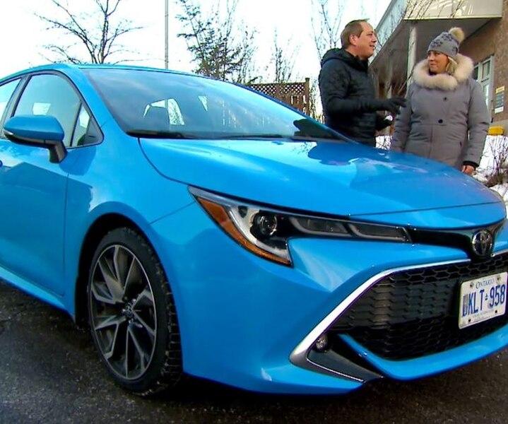 Toyota Corolla à hayons et petites idées cadeaux
