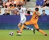 Ignacio Piatti a inscrit trois buts depuis le début de la saison. On le voit ici contourner Boniek Garcia du Dynamo de Houston.