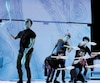Les artistes de Truck Stop : la grande traversée ont offert un aperçu du nouveau spectacle de Machine de Cirque à la presse artistique de Québec, jeudi.