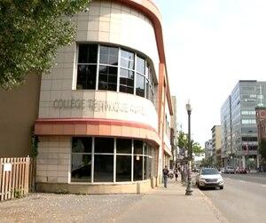 Le collège Aviron avait pignon sur rue à Québec depuis 1961.