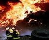 Il y a 25 ans, un incendie dans une montagne de pneus à St-Basile avait incommodé plusieurs personnes.
