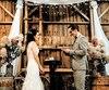 Jaëlle Brien et Maxime Durocher-Demers se sont mariés en octobre 2017 dans la grange centenaire de la ferme Brylee de Thurso.