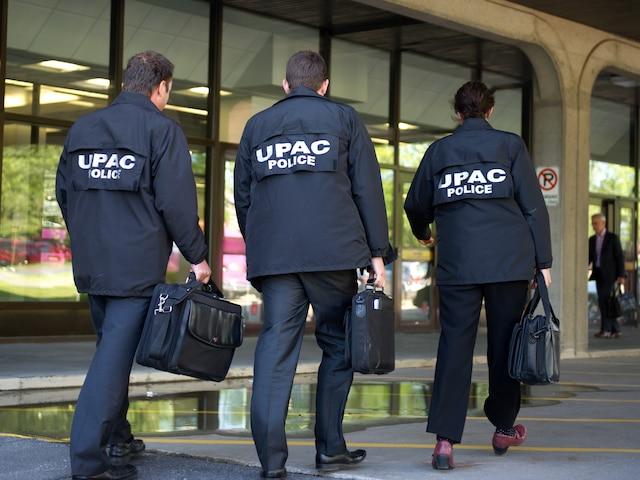 Après des frappes majeures, l'UPAC a souligné au gouvernement qu'il avait une «vulnérabilité accrue aux crimes» en informatique.