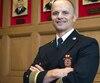 François Massé, chef des pompiers de Montréal, prend sa retraite.