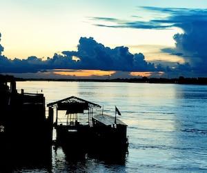 La portion vietnamienne du fleuve Mékong