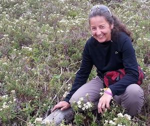 Chantal Conan, cueilleuse et propriétaire de Forêts et papilles.