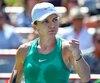 Déterminée d'en finir rapidement, Simona Halep n'a mis que 71minutes pour régler le sort de l'Australienne Ashleigh Barty, samedi.