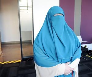 Warda Naili, ou Marie-Michelle Lacoste de son nom légal, porte le niqab depuis six ans. «Tout ce que je veux, c'est vivre en paix et selon mes convictions», a-t-elle dit.