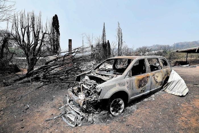 Un incendie a ravagé un quartier de Batlow, une ville de Nouvelle-Galles du Sud