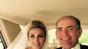 Ingrid Falaise rend un touchant hommage à son papa