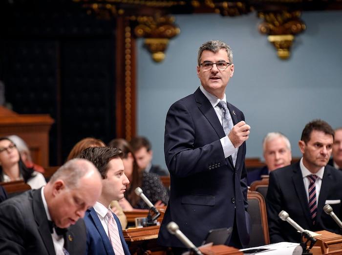 Éric Caire, porte-parole de la CAQ pour la Capitale-Nationale