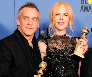 Jean-Marc Vallée et Nicole Kidman ont vu la série Big Little Lies remporter quatre Golden Globes dimanche.