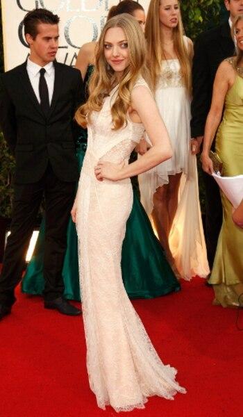 L'actrice des Misérables, Amanda Seyfried, était habillée par Givenchy.