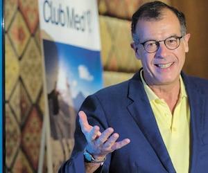 Henri Giscard d'Estaing, PDG de Club Med, hier à Montréal. Selon l'homme d'affaires, le nouveau Club Med mettra Charlevoix et Québec sur la carte mondiale du tourisme.
