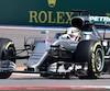 Au volant de sa Mercedes, Lewis Hamilton a outrageusement dominé les deux premières séances d'essais libres du Grand Prix de Russie.