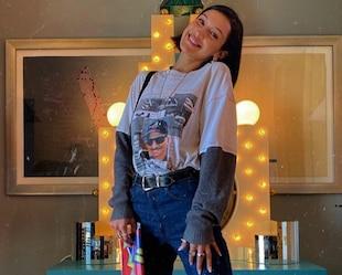 Image principale de l'article Bella Hadid adore cette paire de pantalons à 70$