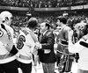 Si nous avons remporté la coupe Stanley au printemps 1976 contre les Flyers de Philadelphie (photo) et quatre fois de suite au total, c'est en grande partie grâce à notre match contre l'Armée rouge, le 31 décembre 1975.