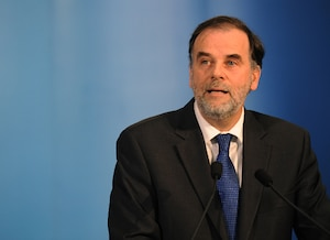 Le ministre de l'Enseignement supérieur, Pierre Duchesne.
