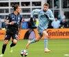 Maximiliano Urruti n'a pas connu un match à la hauteur de son talent contre le Sporting à Kansas City, samedi.