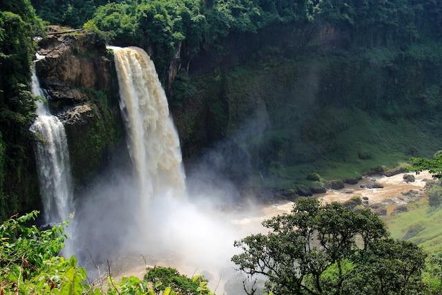 Voir les chutes «de Tarzan» (Littoral)