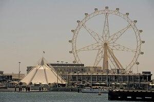 La grande roue australienne de Melbourne visitée à grands frais par Claude Benoit n'avait finalement rien à voir avec le projet étudié à Montréal.