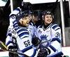 Frédéric Allard (58) a obtenu cinq passes dans la victoire des Sags sur les Huskies de Rouyn-Noranda hier soir à Saguenay.