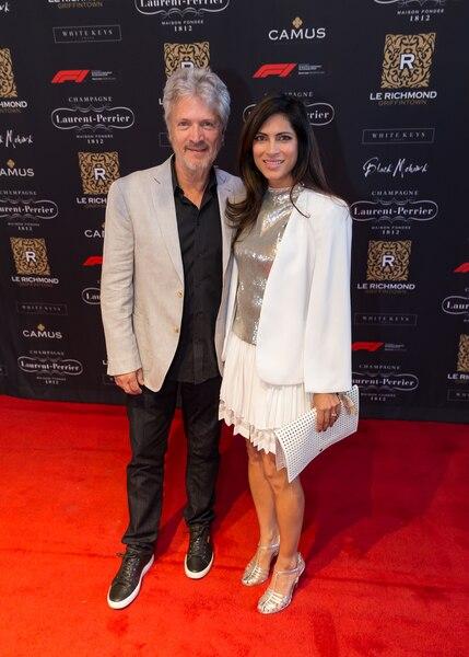 Claude Meunier et Virginie Coossa.